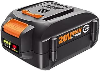 WORX WA3578 20V Power Share 4.0 AH Battery, Orange and Black