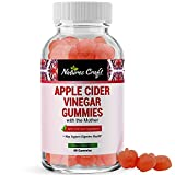 Apple Cider Vinegar Gummies with the Mother - ACV Gummies with Mother for Weight Loss Appetite Suppressant Bloating Colon Cleanse and Detox Liver and Kidney Support with Folic Acid and Beet Root