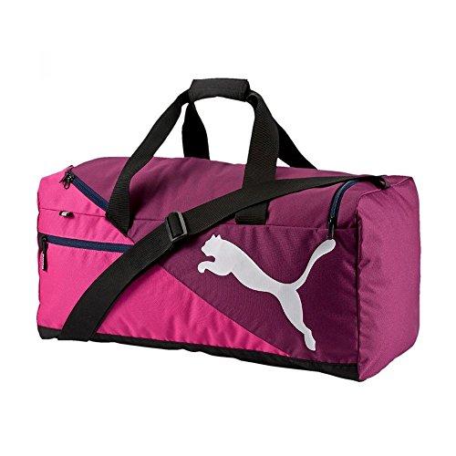 PUMA borsa sportiva fondamentals Sports Bag S, bambino/Red Blast, 27,4 x 11,6 x 25 cm, 29 litri, 073499 08