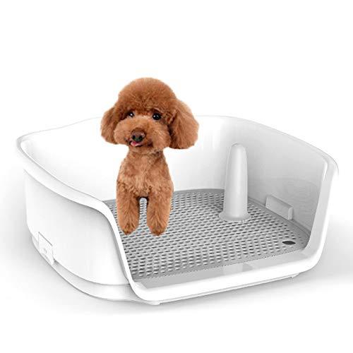 RTVZ Huisdier Hond Toilet, Hond Toilet Potty Tray Training Urinale Hek Grid Hek Training Prullenbak - Geschikt voor Kleine En Medium Honden