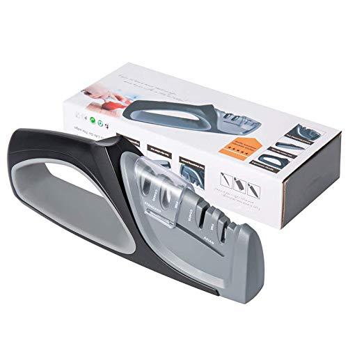 ZHAOZC Knife Sharpenerkitchen Knife Sharpener,Professional Kitchen Knife Sharpener 4 Stages Sharp System Sharpening Knives,Chefs And Pocket Knives