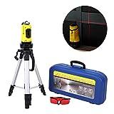 Kit de Laser Niveau Automatique Valens Niveau Laser Rotatif Auto-Nivelant avec Tr/épied Outil de Niveaux Laser Pr/écision /± 1 mm // 1 m avec Tr/épied