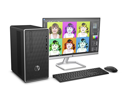 HP Pavilion 590-a0300ng Desktop PC (AMD A6-9225, 1TB HDD, 4GB DDR3L, AMD HD media accelerator, Windows 10) schwarz
