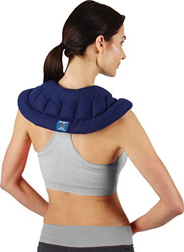 Bed Buddy Microwave Heating Pad - Body Wrap Heat Pad With Flexible Soft Fabric - For Hot or Cold Therapy, Great for Cramps, Muscle Pain, Joint Pain from Arthritis, Headaches, Hot Flashes