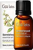 Aceite esencial de sándalo - Limpiador revitalizante para una belleza refinada y equilibrada (10 ml) - Aceite de sándalo de grado terapéutico 100% puro
