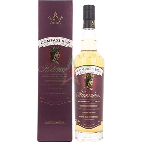 Compass Box HEDONISM Blended Grain Scotch Whisky 43,00% 0,70 Liter