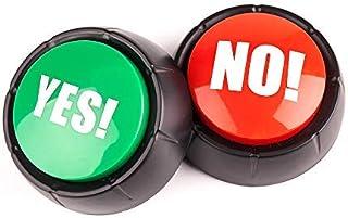 MyMealivos NO Sound Button ,Yes Sound Button ,Set of 2
