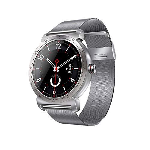 LIRUI057 Fitnessarmband met bloeddrukmeting metalen armband, IP67waterdicht, slaapmonitoring activiteitstracker compatibel met Android iOS