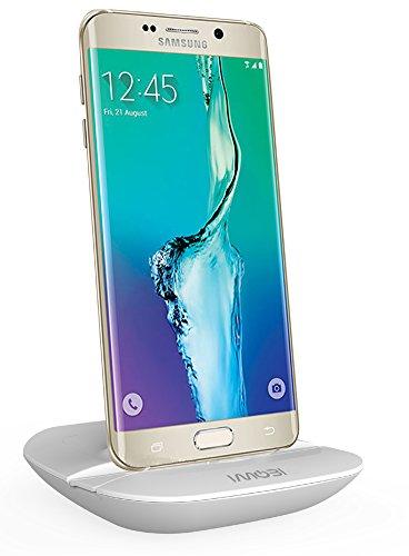 iMoBi i4UC-AS03-imobi-W UFO Design Universal USB Dockingstation für Samsung Smartphone mit Micro-USB Anschluss weiß