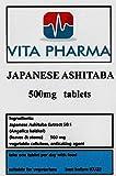 Vasos japoneses ASHITABA 500 mg 60 comprimidos, por Vita Pharma producidos en el Reino Unido