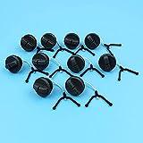 10 unids/lote tapas de tanque de aceite compatibles con Husqvarna 61 66238266268272 42234242 piezas de repuesto de motosierra 501626602