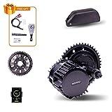Bafang BBSHD BBS03B 1000W Mid Drive Motor para MTB Road Bike City Bike Kit de conversión de Bicicleta eléctrica con batería de Iones de Litio 48v / 52v (52V21AH, 1000W68MMC1846T)
