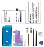 Verbesserte Ersatzakku für iPhone X | Original GLK-Technologies Battery | accu | 2930 mAh Akku | inkl. Profi Werkzeug Tool Kit Reparatur-Set | 2 Jahre Garantie |