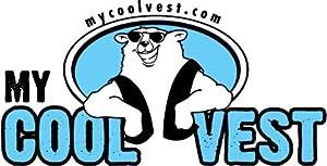 My Cool Vest High Visibility Cooling Vest Regular ORANGE HiVis