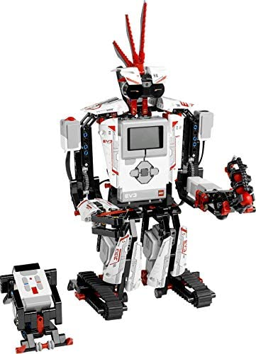 LEGO MINDSTORMS EV3 31313 Robot Kit with Remote Control for Kids, Educational STEM Toy for Programming and Learning How to Code (601 Pieces)