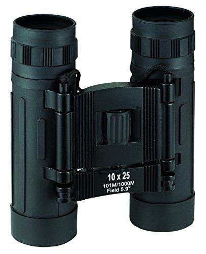 Herbertz Mess-U. Optische Geräte Faltfernglas 10x25 schwarze Gummiarmierung Höhe: 11.5cm, grau, M
