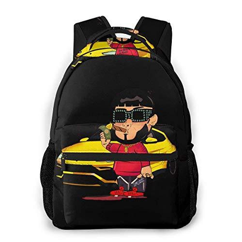 BAODANLE Anuel Aa Real Hasta La Muerte School Bag Multifunctional Backpack Training Course Travel Bag Comfortable Backpack for Men Women