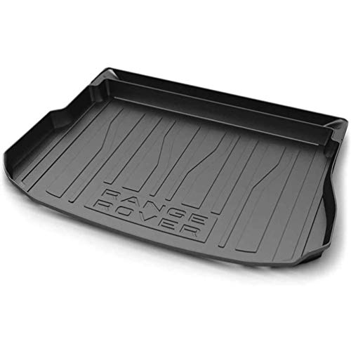 Alfombrillas maletero for Range Rover Evoque 2014-2021,Trunk floor liner tray Rubber Tailored waterproof dustproof protection carpets rear cargo utility mat interior trim modification accessories