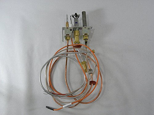 White Mountain Hearth Empire Direct Vent Fireplace Propane Pilot Assembly with Thermopile & Thermocouple R5144