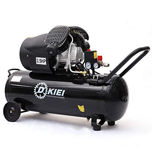 Air Compressor 100 Litre 14.6CFM 3.5HP, Black