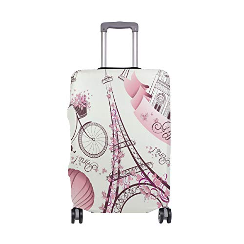 FOLPPLY Cute Cartoon Unicorn Luggage Cover Baggage Suitcase Travel Protector Fit for 18-32 Inch
