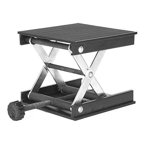 Level Instrument WorkbenchPlastikplatte & Metallhalterung Hebebühne Standgestell für Level/Labor 90 x 90mm