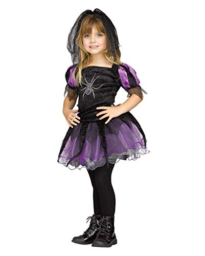 Horror-Shop Araignée Reine Costume Toddlers L ca.36 Mon.