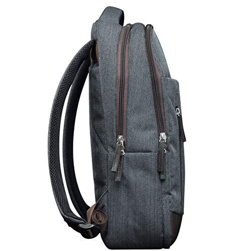 CANYON Rucksack für unterwegs Laptop MacBook, 14L Kapazität, 12 Taschen, verstellbare Träger Größe: 430x275x100