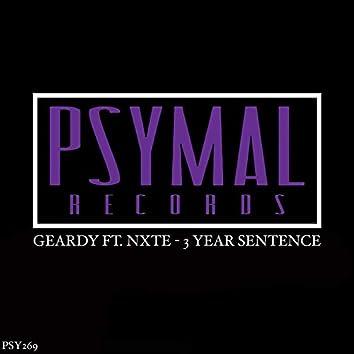 3 Year Sentence