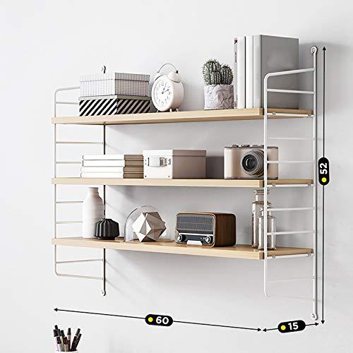 Wandregale, großer Stauraum, dreiteiliges Set für Bad, Küche und Schlafzimmer