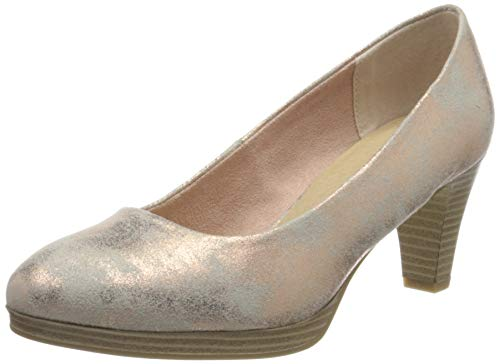 MARCO TOZZI Damen 2-2-22413-34 Pumps, Pink (Rose Metallic 592), 40 EU