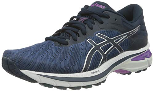 ASICS Gel Pursue 7 Road Running Shoe - Scarpe da Corsa da Donna, (Grand Shark Pure Silver), 42 EU