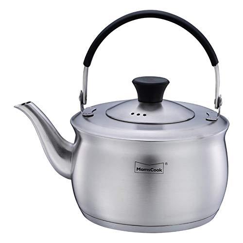 DIBAO Kettle de Silbato para la Placa de Gas Té del Acero Inoxidable teteras Ollas de Fogón rápido a hervir la Caldera de té quemadores Whistling Tea Pot
