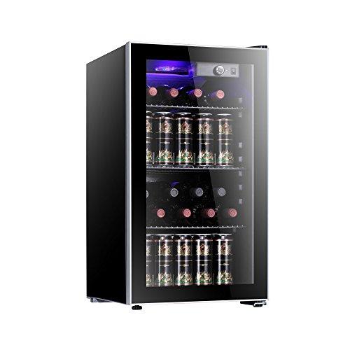 Antarctic Star 26 Bottle Wine Cooler Beverage Refrigerator