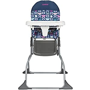 Cosco Simple Fold High Chair, Poppy Field