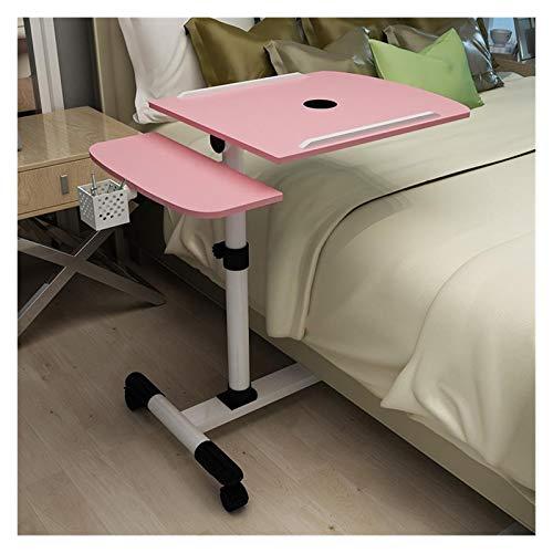 AQHXLS Liftable Mobile Laptop Desk, Bedside Sofa Bed Study Desk, Folding Laptop Desk, Adjustable Desk Convenience (Color : 09)