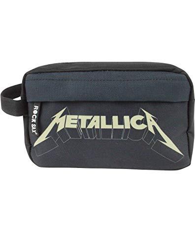 Rock Sax Metallica Logo Washbag