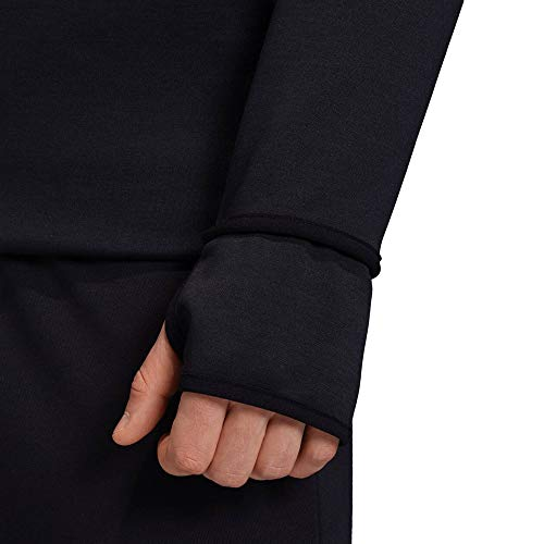 adidas Mens M Zne Hd Fr Jacket, Black/Black, M