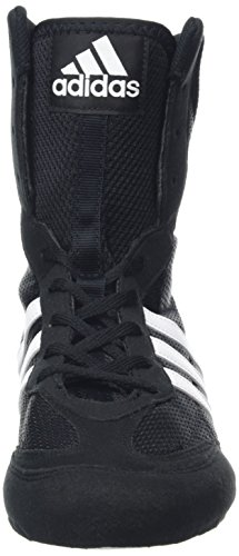 Adidas Box Hog, Unisex Adults Boxing Shoes, Black (Black/White), 8 UK (42 EU)
