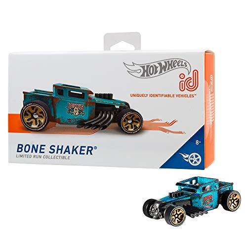 Mattel - Hot Wheels ID Vehículo de juguete, coche Bone Shaker, +8 años ( FXB50)