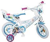 Bicicleta para niña, 12' motivo Frozen, de 3 a 5 años