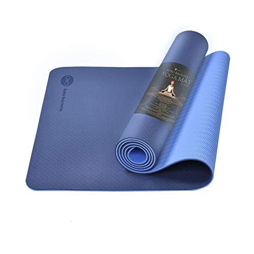 bobo banana TPE Yoga Mat, Eco Friendly Non Slip Fitness Exercise Mat, Pilate Mat for Yoga...