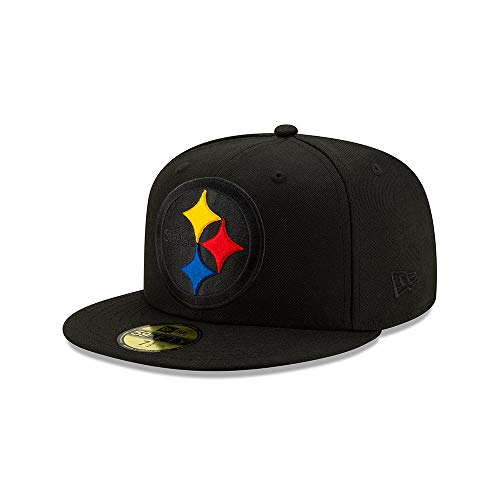 New Era Pittsburgh Steelers NFL Elements 2.0 Black 59fifty Cap 7 1/4-58cm (L)