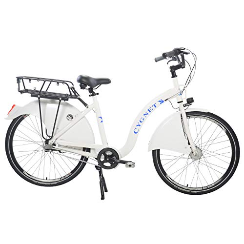 For Sale! Cygnet Anti-Theft Bike Share/Rental City Bicycle with Supernova Lighting System, 99% Assem...
