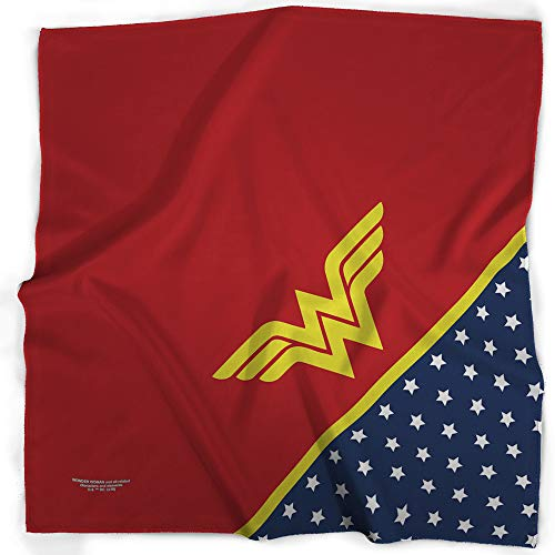 Bandana Wonder Wonder Woman Star WW Icon Red Yellow Blue White