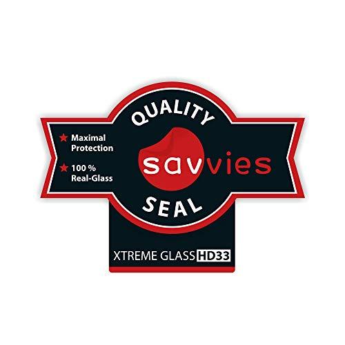 Savvies Panzerglas kompatibel mit Huawei Watch GT/GT Active (3 Stück) – Echt-Glas, 9H Härte, Anti-Fingerprint - 6