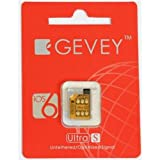 Gevey 【iPhone4S/iOS 6.0/5.1.1も 対応】SIMロック解除アダプタ GEVEY Ultra S AU/Softbank iPhone4s用