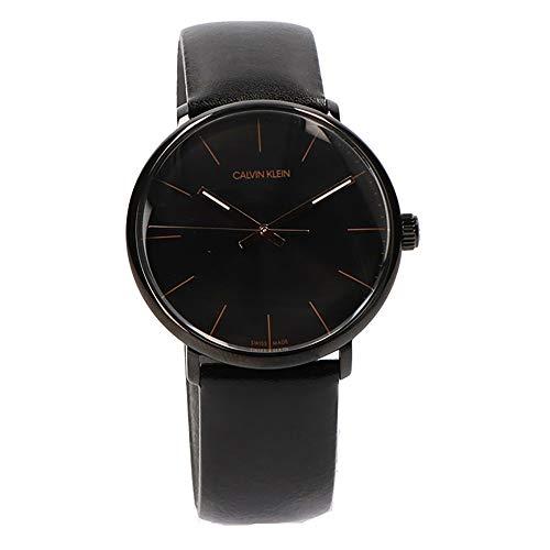 カルバンクライン CALVIN KLEIN 腕時計 CK K8M214CB ハイヌーン クォーツ メンズ レザーベルト [並行輸入品]