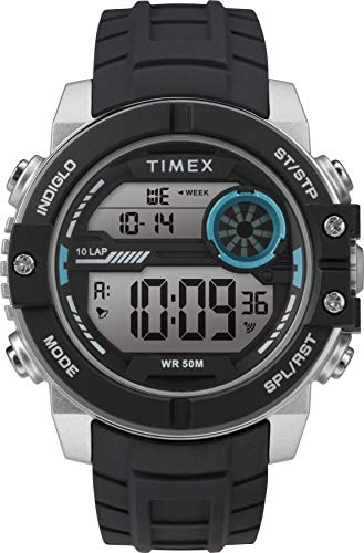 Timex Herren Mechanik Uhr mit Silikonarmband Armband TW5M34600