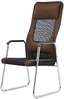 Fhw Reclinar Ejecutivo reunión de la oficina, sillas de escritorio Cojín ergonómico Conferencia malla transpirable de espuma y robusta base de acero Escritorio Silla Silla de oficina Sillas de oficina